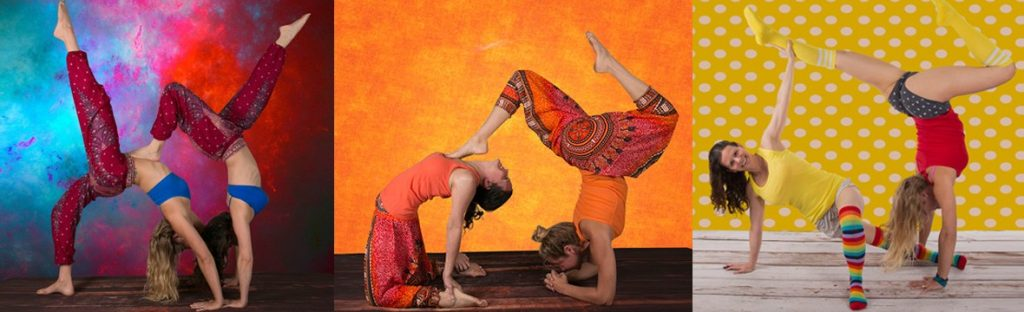 Partner Yoga How-To with Christy and Meg